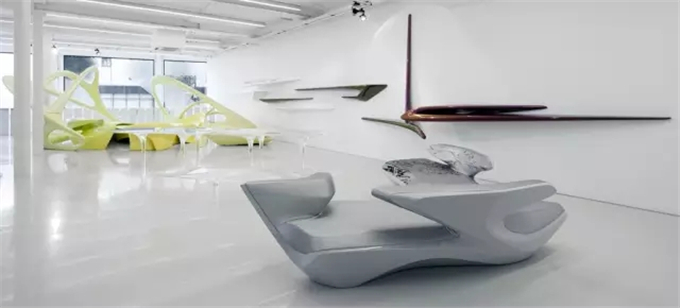 Zaha Hadid Design Gallery Photograph by Marcus Peel.webp