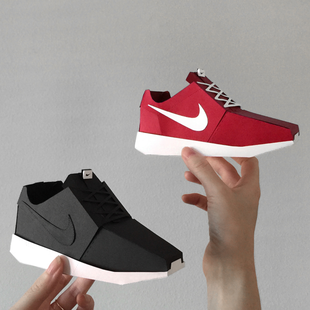 roshe+run+black+and+red
