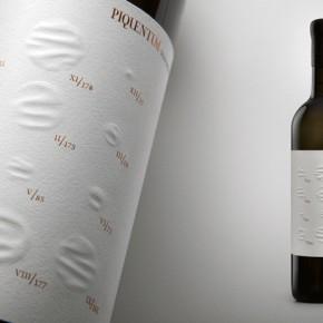 全年天气一目了然的红酒标签