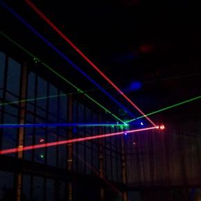 DesignLAB:他们在乌镇用灯光音乐和影像造了一座房子