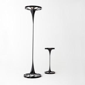 这个设计师把液体流动的瞬间做成了灯具