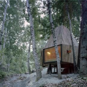 读书、喝茶、看松鼠,这间大山深处只有8㎡的树屋棒极了!
