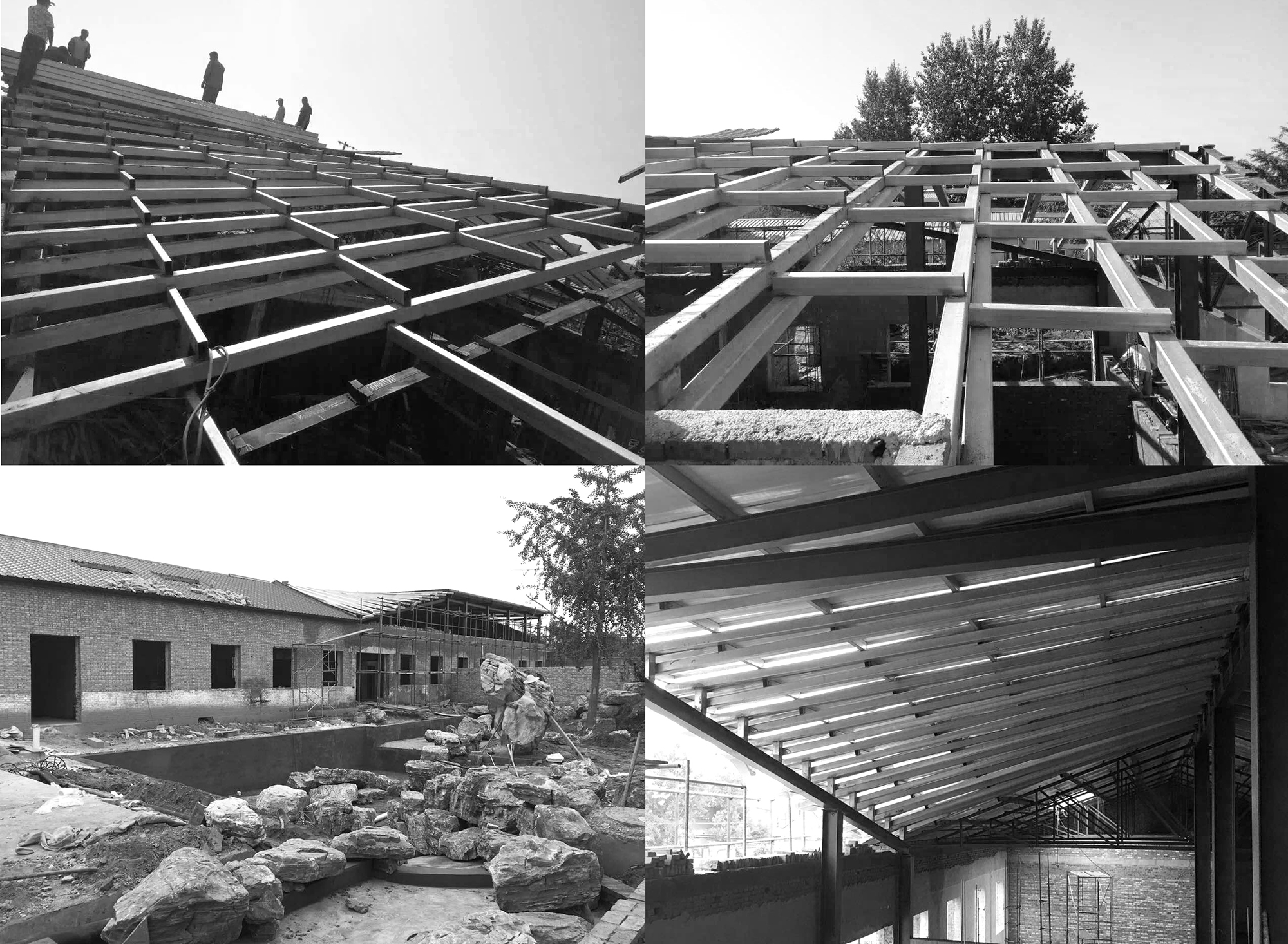 roof construction process