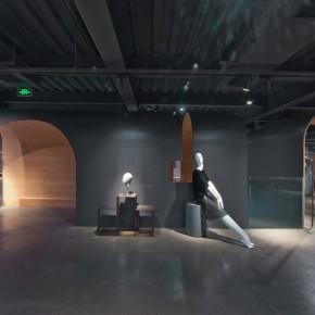 """MINZE-STYLE品牌集合店,将传统""""拱""""元素运用于现代室内设计"""