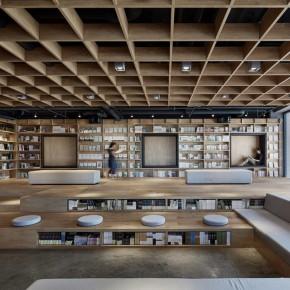 这个书店宛如城市中的一缕新鲜空气,透着希望的光