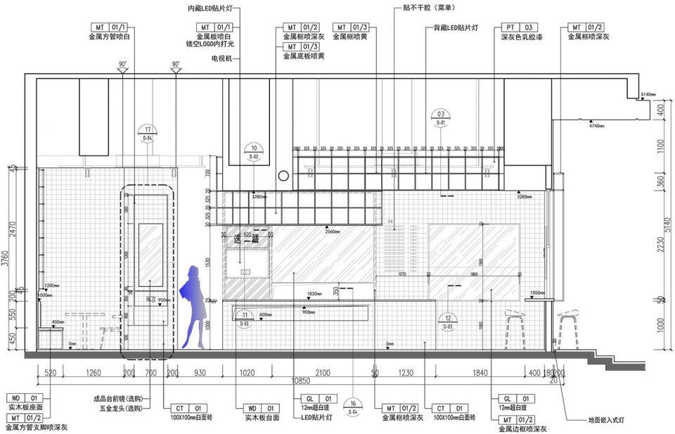 10-elevation_Sushan-Restaurant_Trenchant-decoration-design-960x617