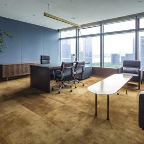 材料定义功能的办公空间原来这么高端