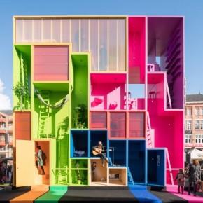 色彩纷呈的未来酒店
