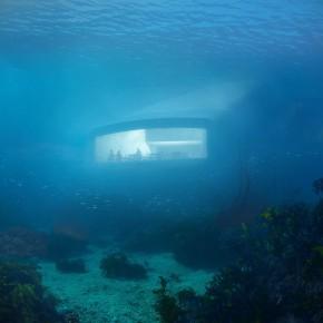 欧洲首家水下餐厅即将亮相