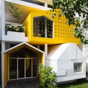 """城市住宅的趣味转型,在""""房子""""中建""""房子"""""""