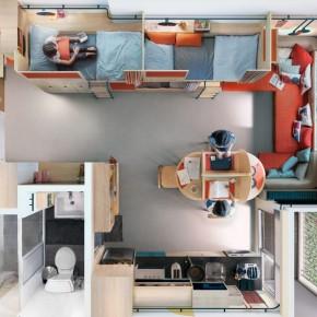 7人共住一间公寓,既办公又居住,内部布局惊呆众人
