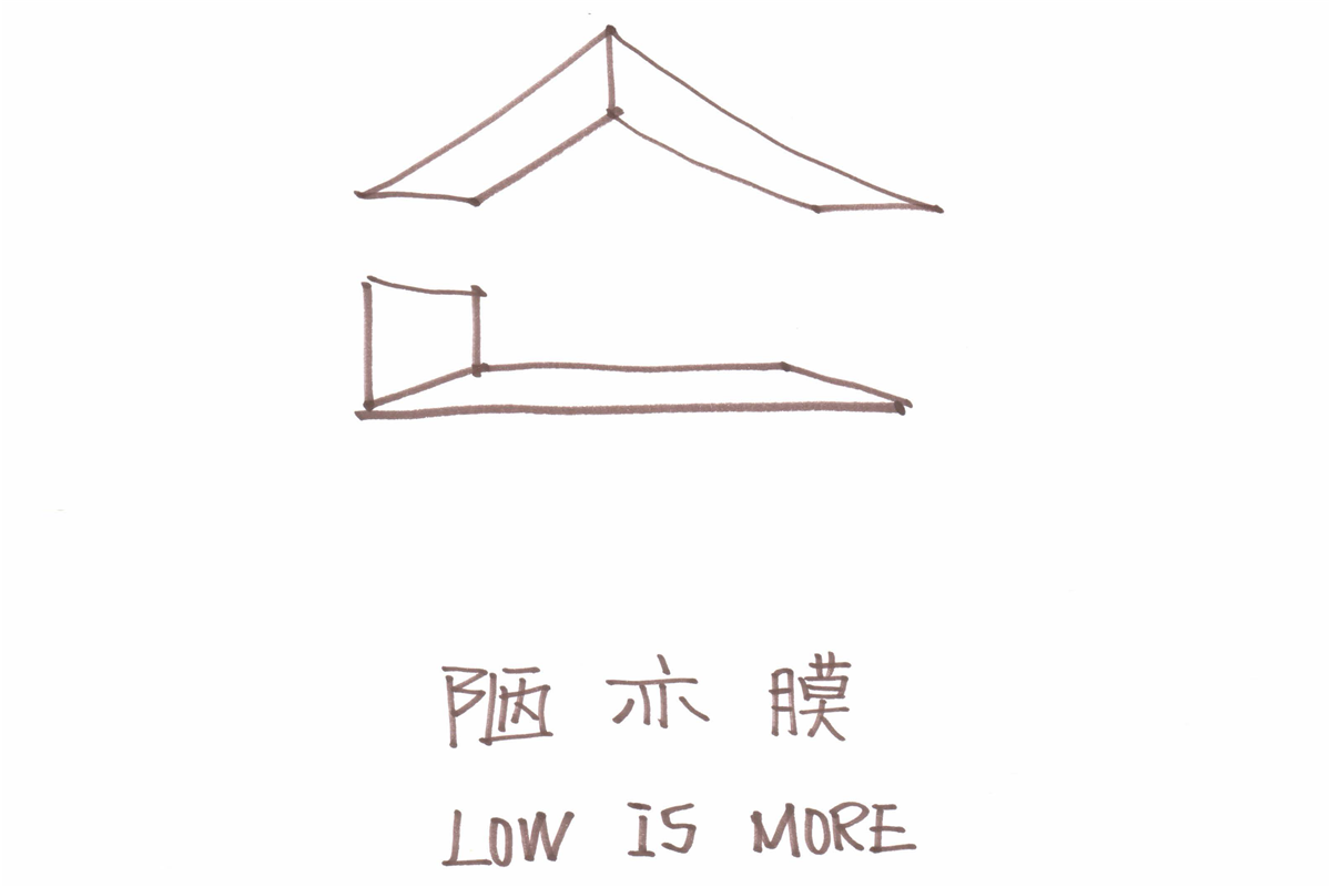 《陋亦膜》(Low Is More),综合材料,2400 × 5700 × 4200 mm,2017