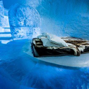 这个冰雪做的艺术酒店你敢来住吗?