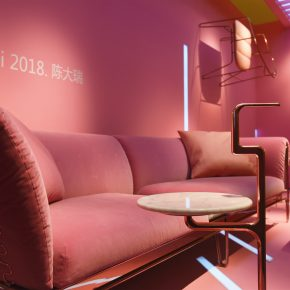 木美亮相设计上海,一隅粉红色打破了所有界限