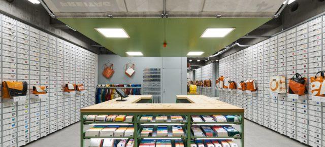 65平米的商店存放1200个包,他们是如何做到的?