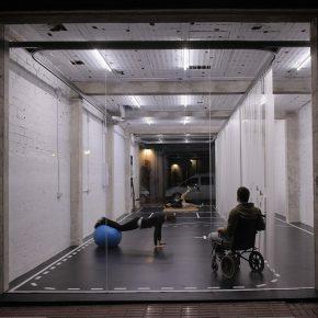 一家专门为残疾人运动员设计的健身工作室