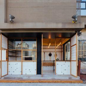 这个黄浦江边的16平米热狗店,告诉你现代快餐的狂野形式