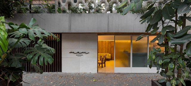 这个有三个空间的餐厅,设计灵感竟来自一个厨师