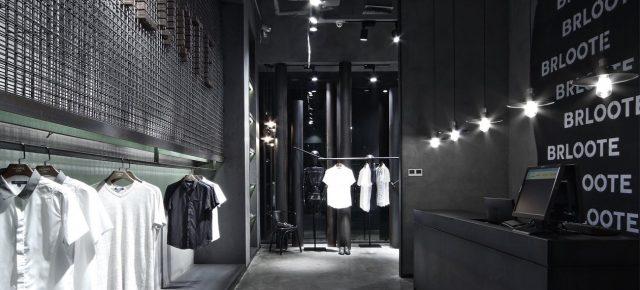 """这家男装店有点""""黑"""",还有点酷"""