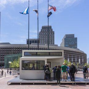 """""""插件家""""将房屋搭在哈佛大学与波士顿市政厅,创造更多的生活可能性"""