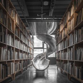 """这个带滑梯的""""黑盒子""""不只有书店"""