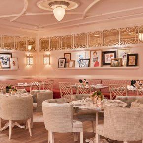 """设计师刻意打造的""""女人味""""都在这个餐厅里了"""