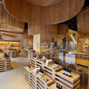 在隈研吾设计的酱油店,打个酱油也要精致!