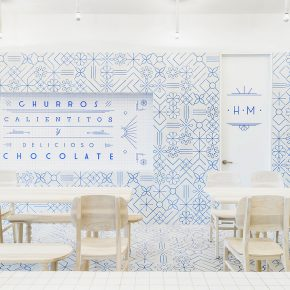 这家餐厅告诉你,马赛克瓷砖用对了竟然这么美