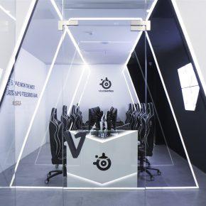这家通透明亮的电竞馆连IG都感兴趣