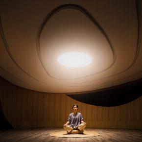 这个用来禅修的空间,竟然有5种功能
