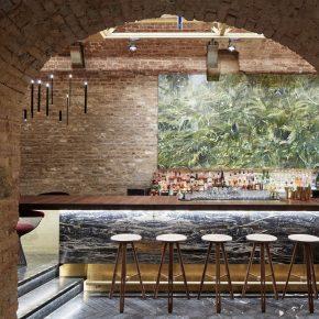 """他们把""""国际家具设计展""""搬到了这个地下12米深的酒吧"""