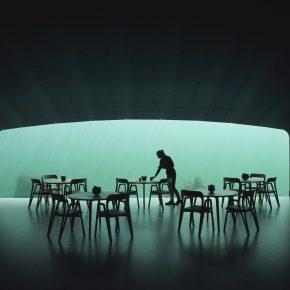 时隔两年,轰动全球的这家水下餐厅终于建成,实景空间首曝光
