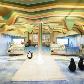 """在挪威的游乐园里,竟然藏着这样一个""""有故事""""的冰激凌城堡"""