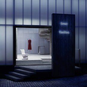 """Acne开了家""""表里不一""""的服装店,来看看这个巨型灯箱里面长啥样!"""