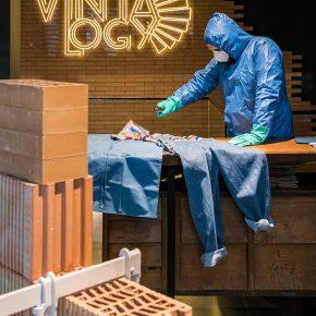 马德里开了家废墟服装店,这里有当下最流行的工业(地)风!