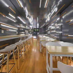平介设计丨夹缝中的捞饭餐厅