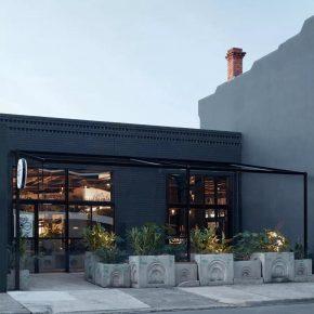 """混凝土块搭出一座""""花园"""",墨尔本这家餐厅够硬核!"""
