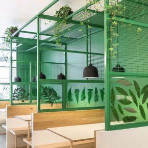 给餐厅用上这个颜色,轻松打造朴素自然风!
