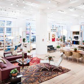 纽约的这家家具旗舰店,一个什么都可以出售的家