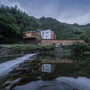 久舍营造丨重见山水--临安鱼乐山房民宿改造