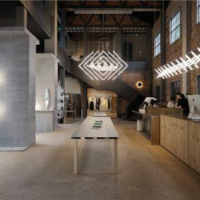 """他從""""馬扎""""中獲得靈感,設計的燈具從米蘭火到杭州……"""