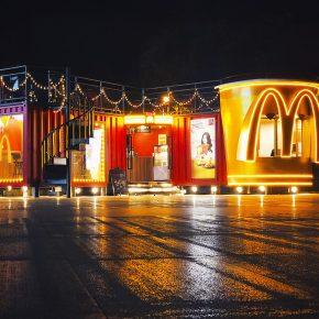 牛油果设计丨麦当劳美式浪漫集装箱快闪店