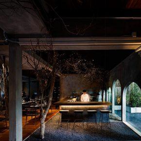 在餐厅里种下一片森林,设计师这次玩大了!