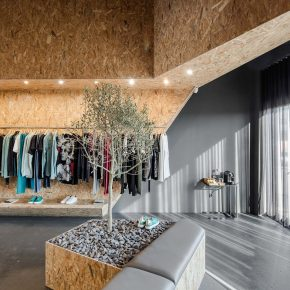 超低成本打造65㎡高颜值服装店,这种材料立了大功!