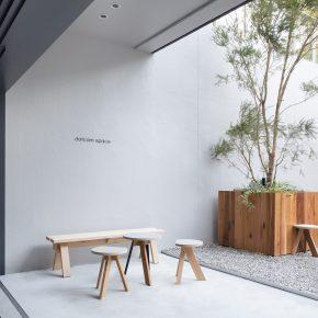 在东京开张的中国咖啡店,设计也玩儿极简风