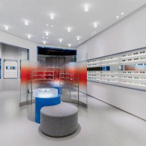一岸建筑设计丨暴龙眼镜厦门店
