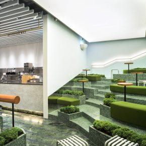 Nota建筑设计丨喜茶杭州国大广场热麦店
