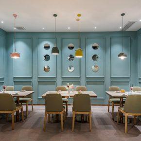巢羽设计事务所丨扬州BINGO亲子餐厅