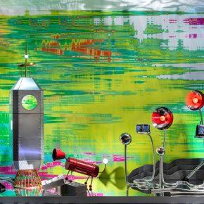 石川设计丨红谷「地球大爆炸」艺术橱窗装置