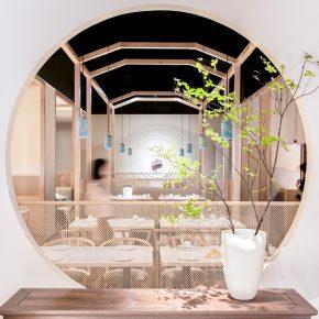 山点水建筑设计︱思味堂意境川菜餐厅